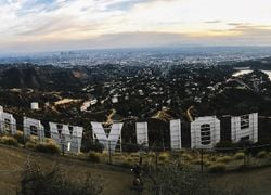 Hollywood Sign Hill View Los Angeles County First Team Real Estate