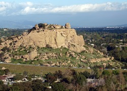 San Fernando Valley Stoney Point climbing rock Los Angeles County First Team Real Estate