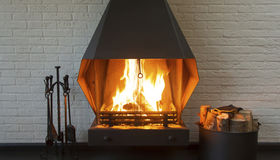 Gas or Wood Fireplace?