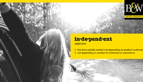 Independent by Definition