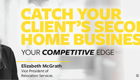 Your Competitive Edge: Catch Your Client's Second Home Business