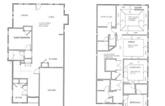 Floor Plan A & B Thomas Ave