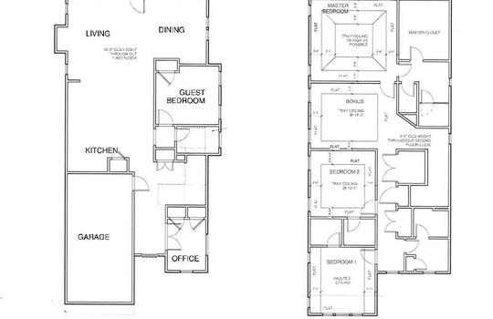 Floor Plan C & D Thomas Ave