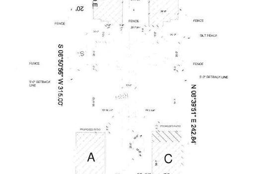 Site Plan for Thomas Neighborhood