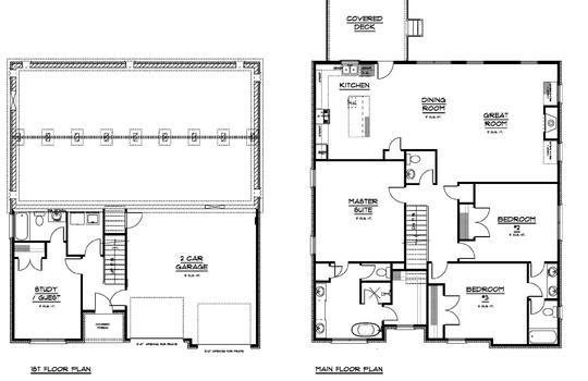 Lot 38 Floor Plan