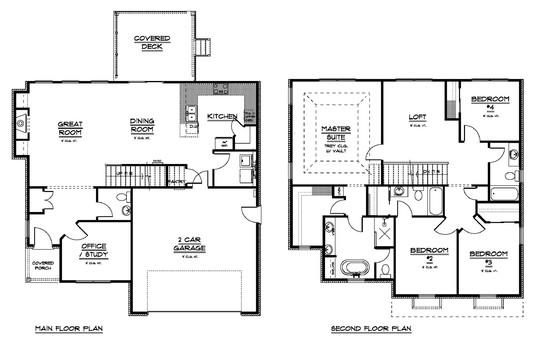 Lot 42 Floor Plan