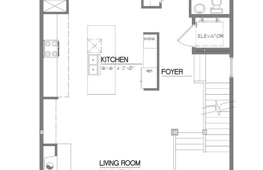 High Street Bldg 1 First Floor Plan