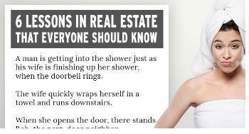 A Lesson In Real Estate That Everyone Should Know