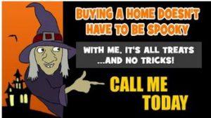 real estate Halloween buying