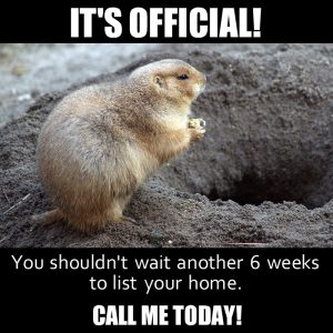 Groundhog Day And Real Estate