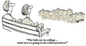 Downsizing In Oakland County Michigan cartoon