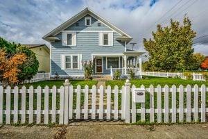 Fall Season Home Seller house