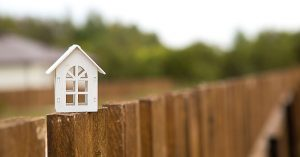 home on the fence