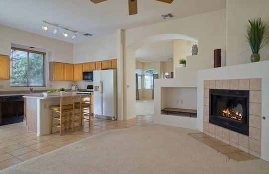11957 N Labyrinth Drive – Family Room 3