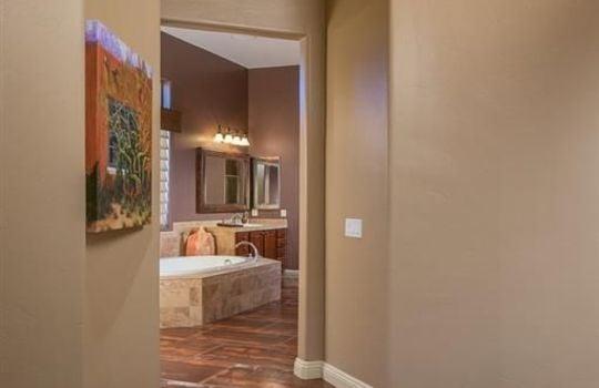 13696 N Tessali Way – Master Bedroom Entrance