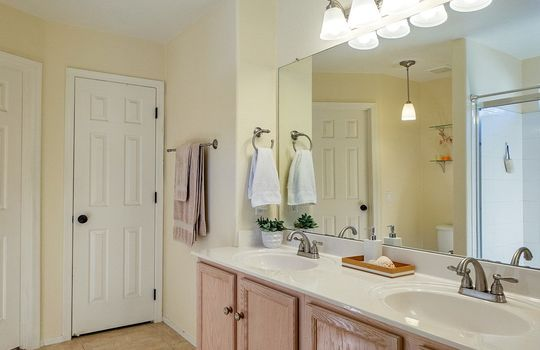Master Bath With Large Shower and Walk In Closet