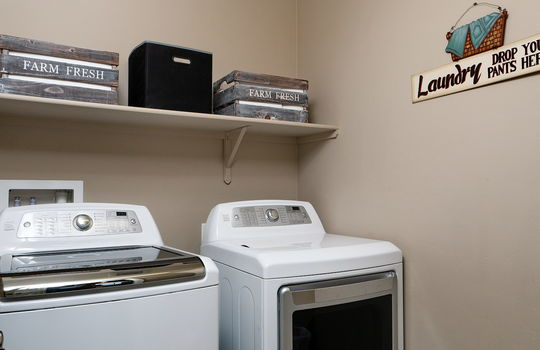 Laundry- Upper Level