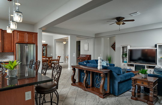 From Breakfast Nook Into Living Space