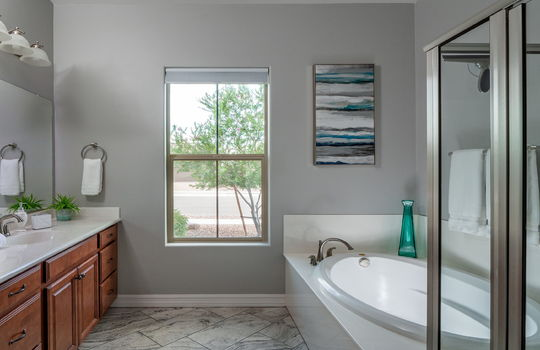 Second Master Bath With Walk-In Closet