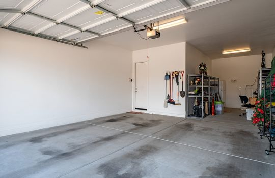 Three Car Tandem Garage