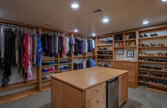 Massive Master Suite Closet