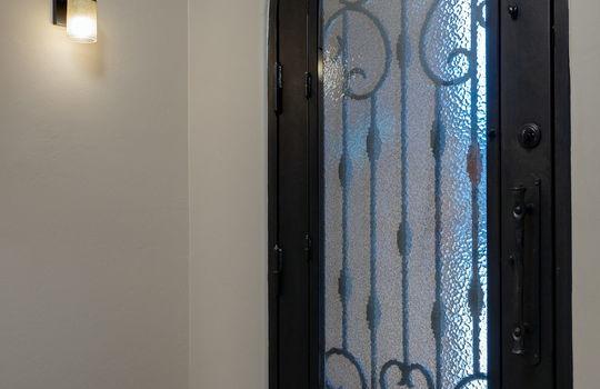 Openable Security Door