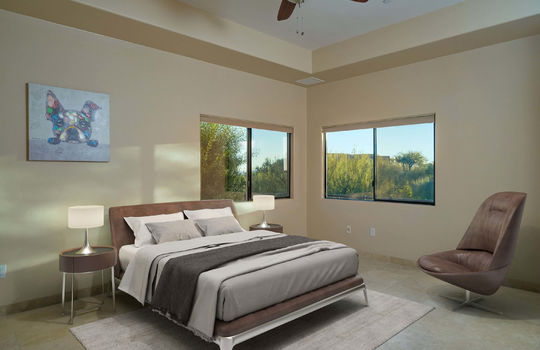 First Guest Bedroom Shot 2- Virtually Staged