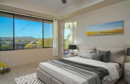 Second Guest Bedroom- Virtually Staged