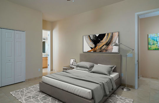 Third Guest Bedroom- Virtually Staged