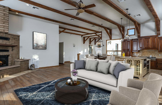 Living Space-Upper Level-Shot -Staged