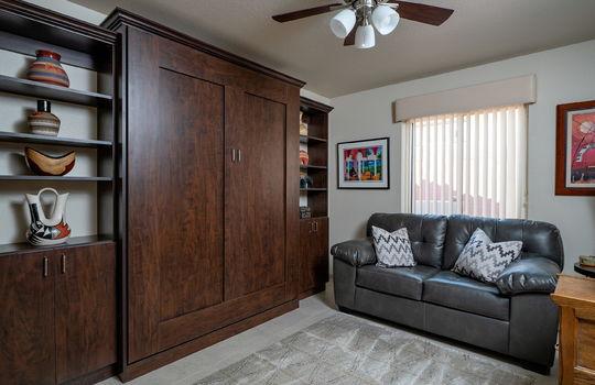 Second Bedroom-Den with Murphy Bed