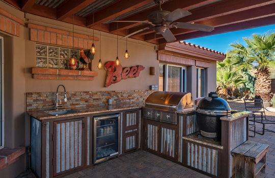 Outdoor Space Shot 2—Outdoor Kitchen