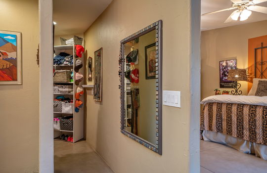 Primary Bathroom Shot 2 — One of the 2 Walk-In Closets