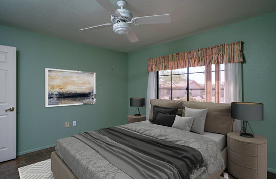 Guest Bedroom-Digitally Staged