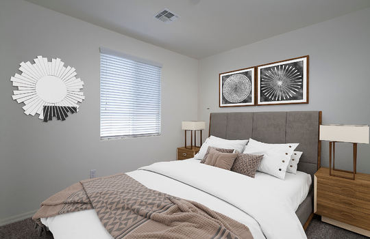 Second Guest Bedroom-Digitally Staged