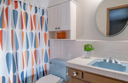 First Guest Bedroom -En Suite Full Bath