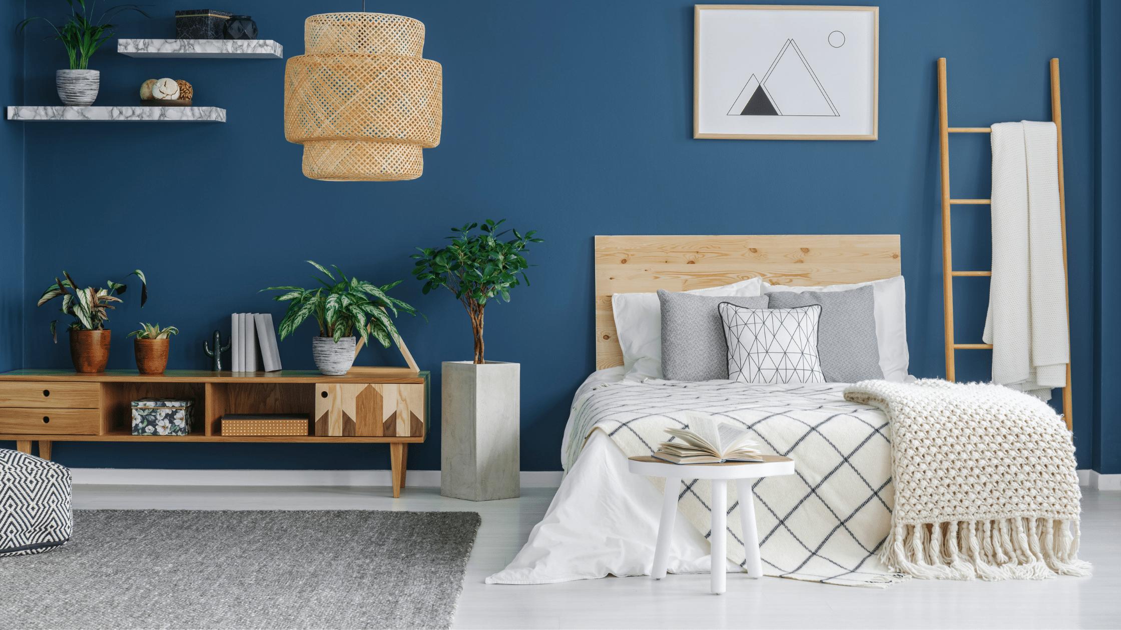Probate Properties Blog - Blue Bedroom
