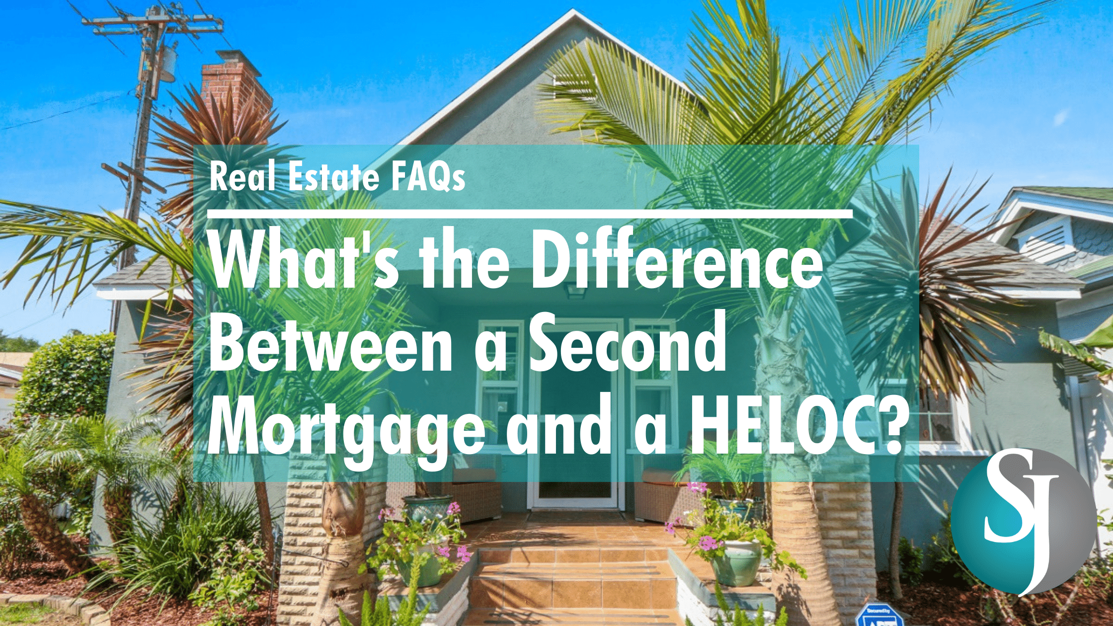 Real Estate FAQs - Second Mortgage vs HELOC - YouTube