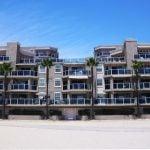 Beachfront condos on Ocean Long Beach CA