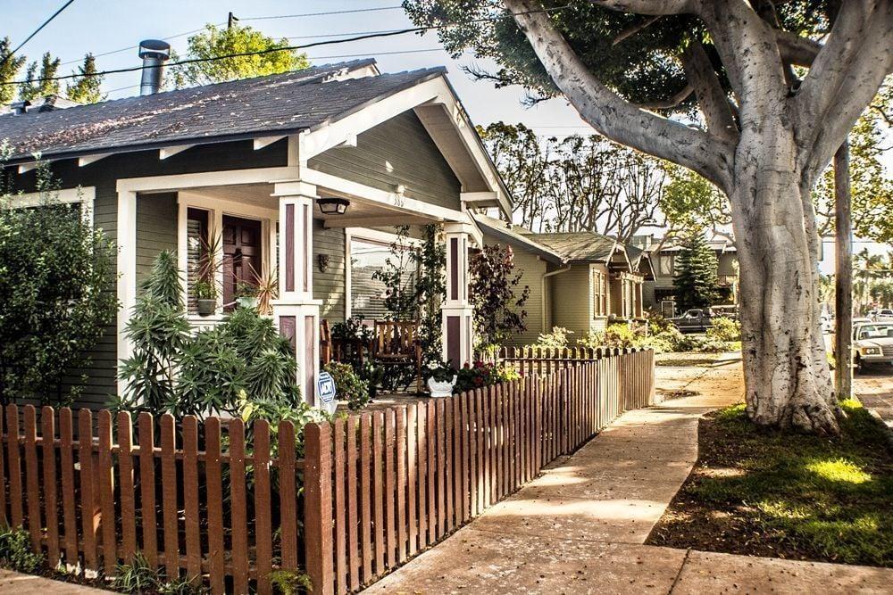 Long Beach bungalows