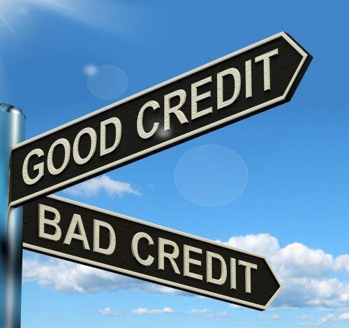 goof credit sign