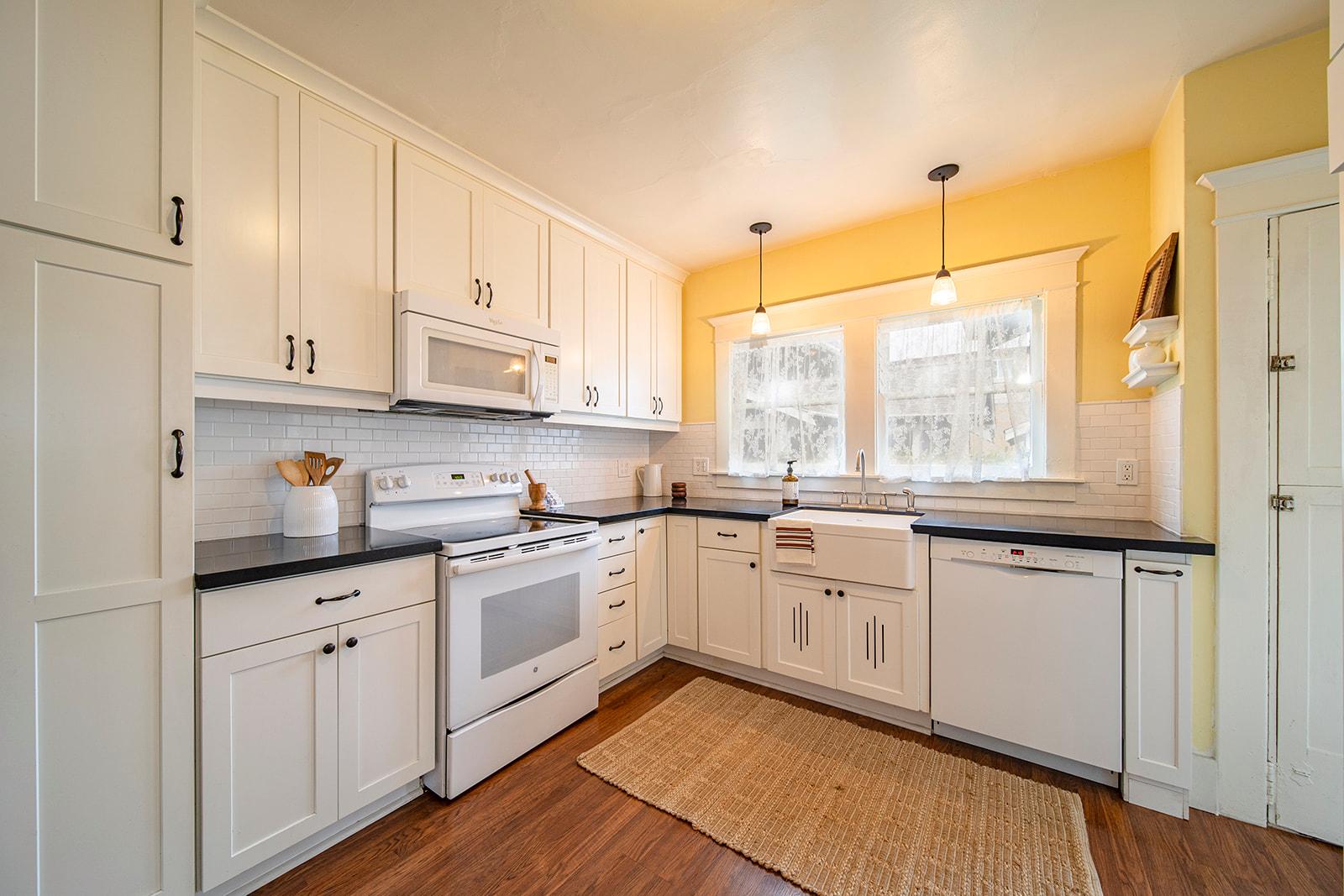 Decluttering for Sale Success Blog - Staged Kitchen