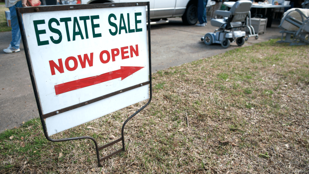 Downsizing Options - Estate Sale