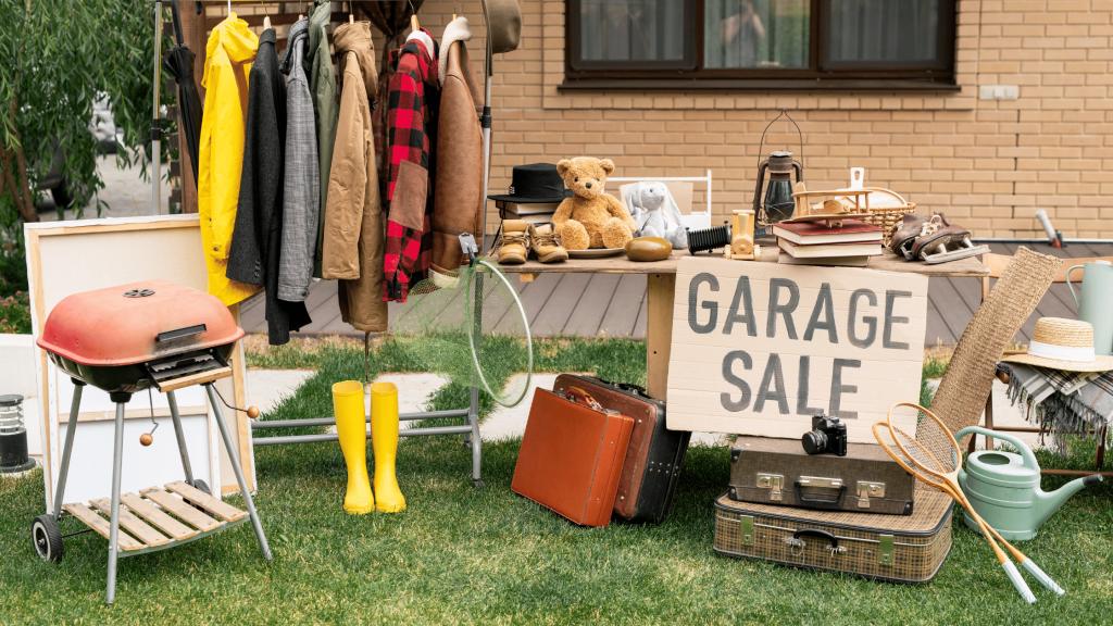 Downsizing Options - Garage Sale