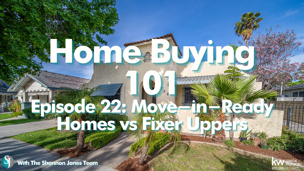 Move-in-ready vs fixer-upper homes