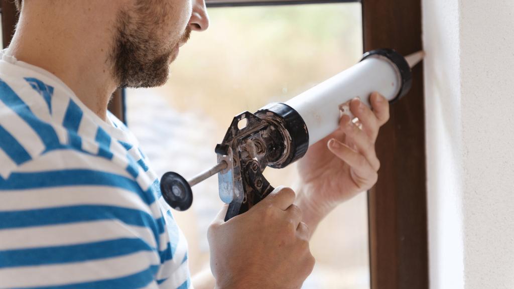 March Home Maintenance Tasks - Caulking
