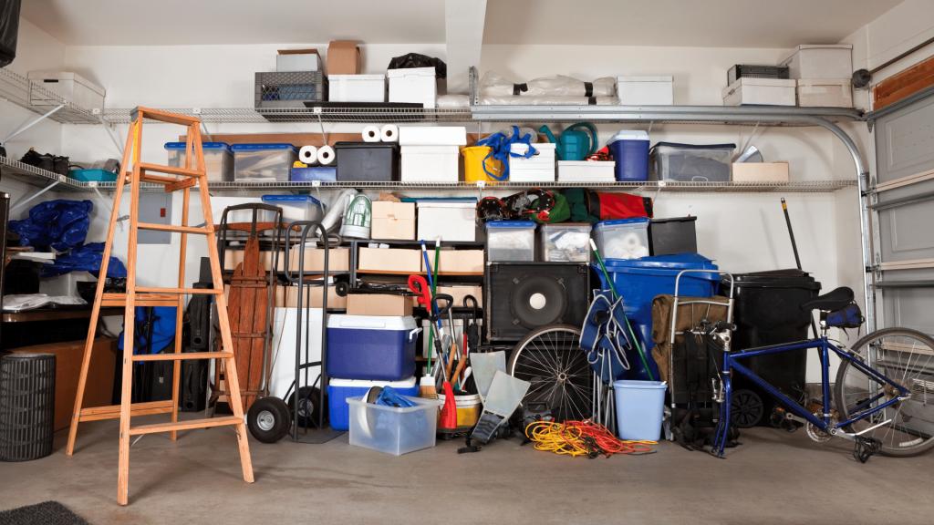 March Home Maintenance Tasks - Garage Cleaning