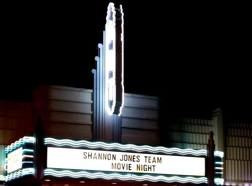 Shannon Jones Team Movie Night