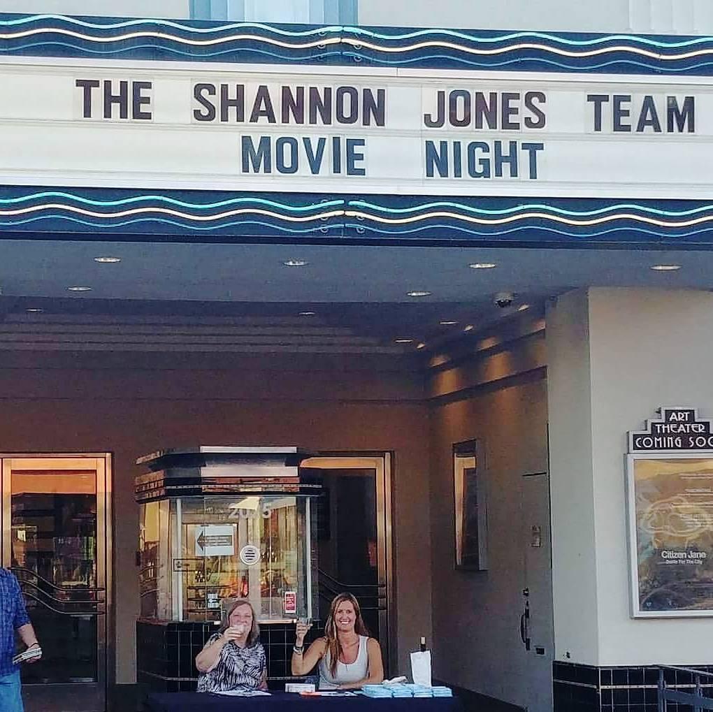 Shannon Jones Movie Night