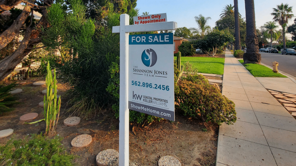 Selling Your Home for Top Dollar - Shannon Jones Team Sign